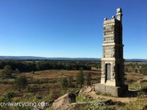 View from Little Round Top, Looking Northwest over Houck's Ridge toward Seminary Ridge