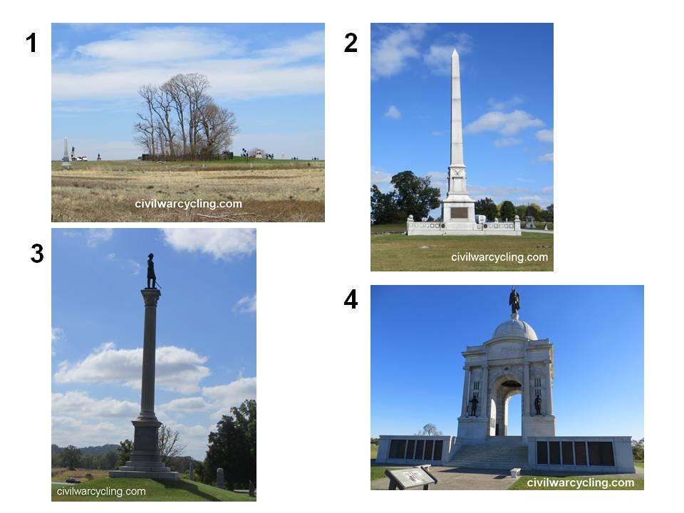 Landscape Photos of Cemetery Ridge