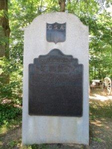 ANV HQ Monument