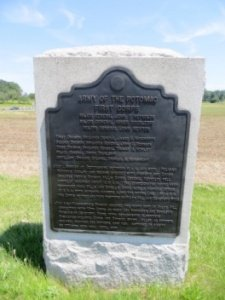 AOP 1st Corps (Reynolds) HQ Monument