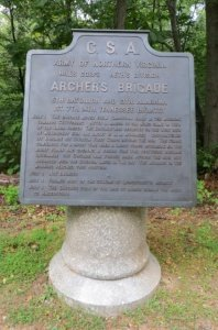 ANV Brigade HQ Monument