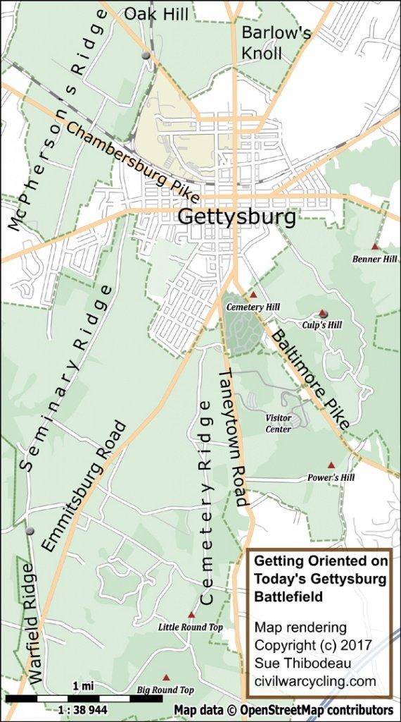 Battle of Gettysburg Day 1