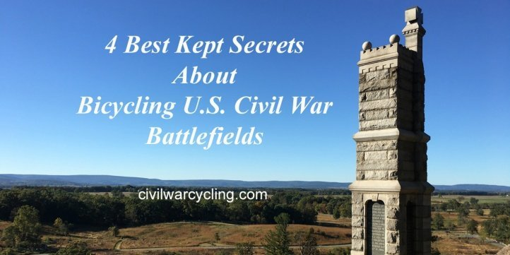 Secrets About Bicycling Civil War Battlefields