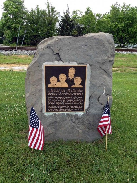 Amos Humiston Memorial
