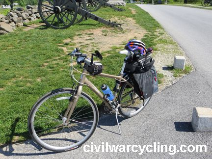 planning a great Civil War bicycling adventure
