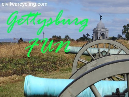Gettysburg Fun at Civil War Cycling