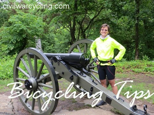 Bicycling Tips at Civil War Cycling