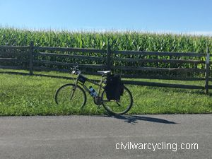 Bicycling Antietam National Battlefield