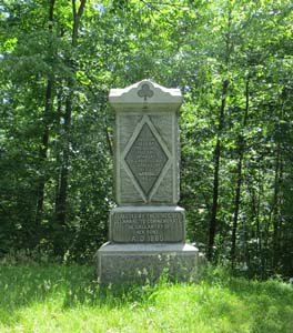 2nd delaware monument