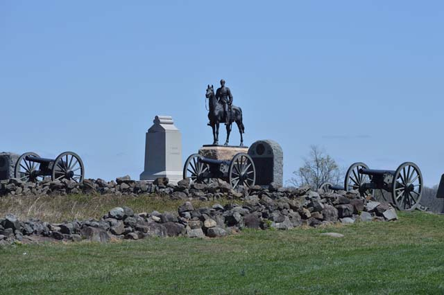 Gen. Meade Equestrian Monument on Cemetery Ridge