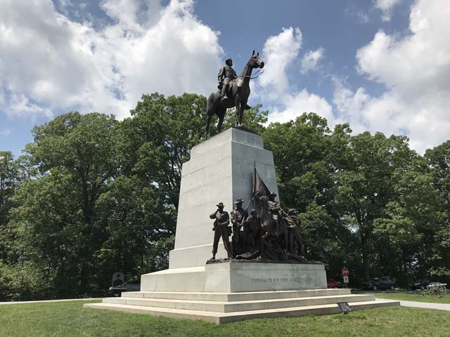 Gen. Robert E. Lee Equestrian Monument on Seminary Ridge