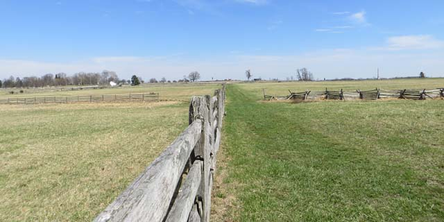 fields of Pickett's Charge