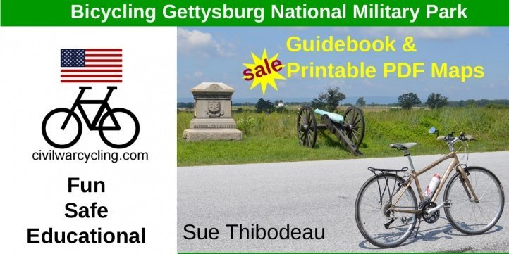 Holiday Sale Bicycle Gettysburg Guidebook and Maps