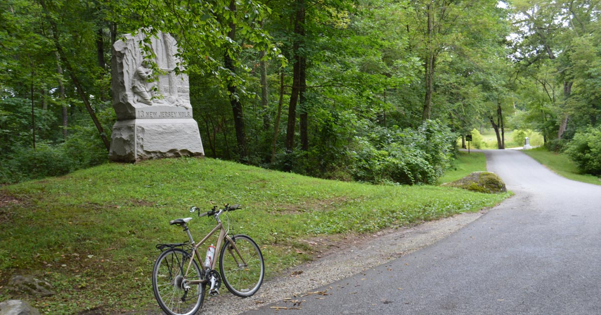 guidebook to cycle Gettysburg