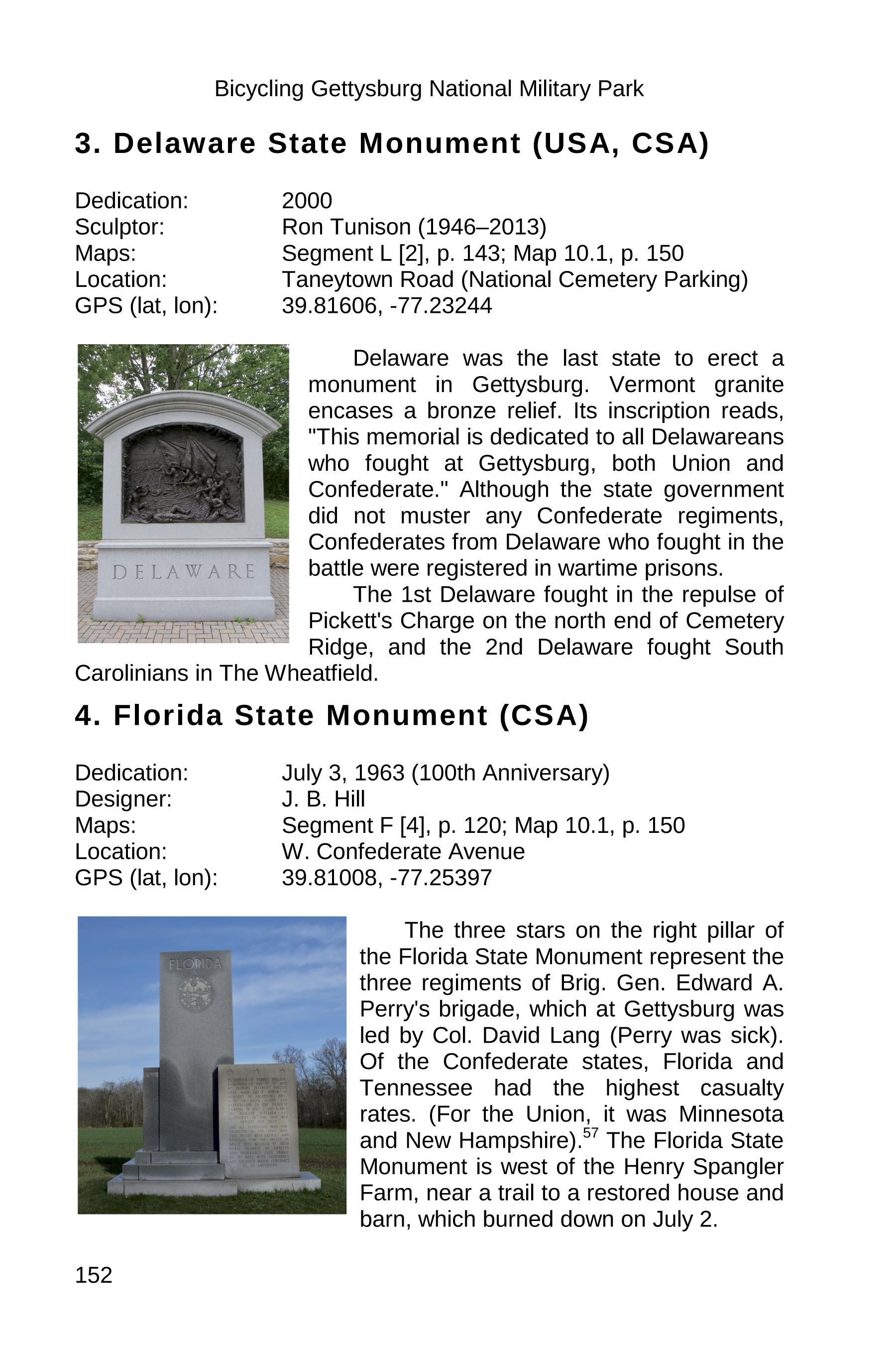 gettysburg state monuments sample 152