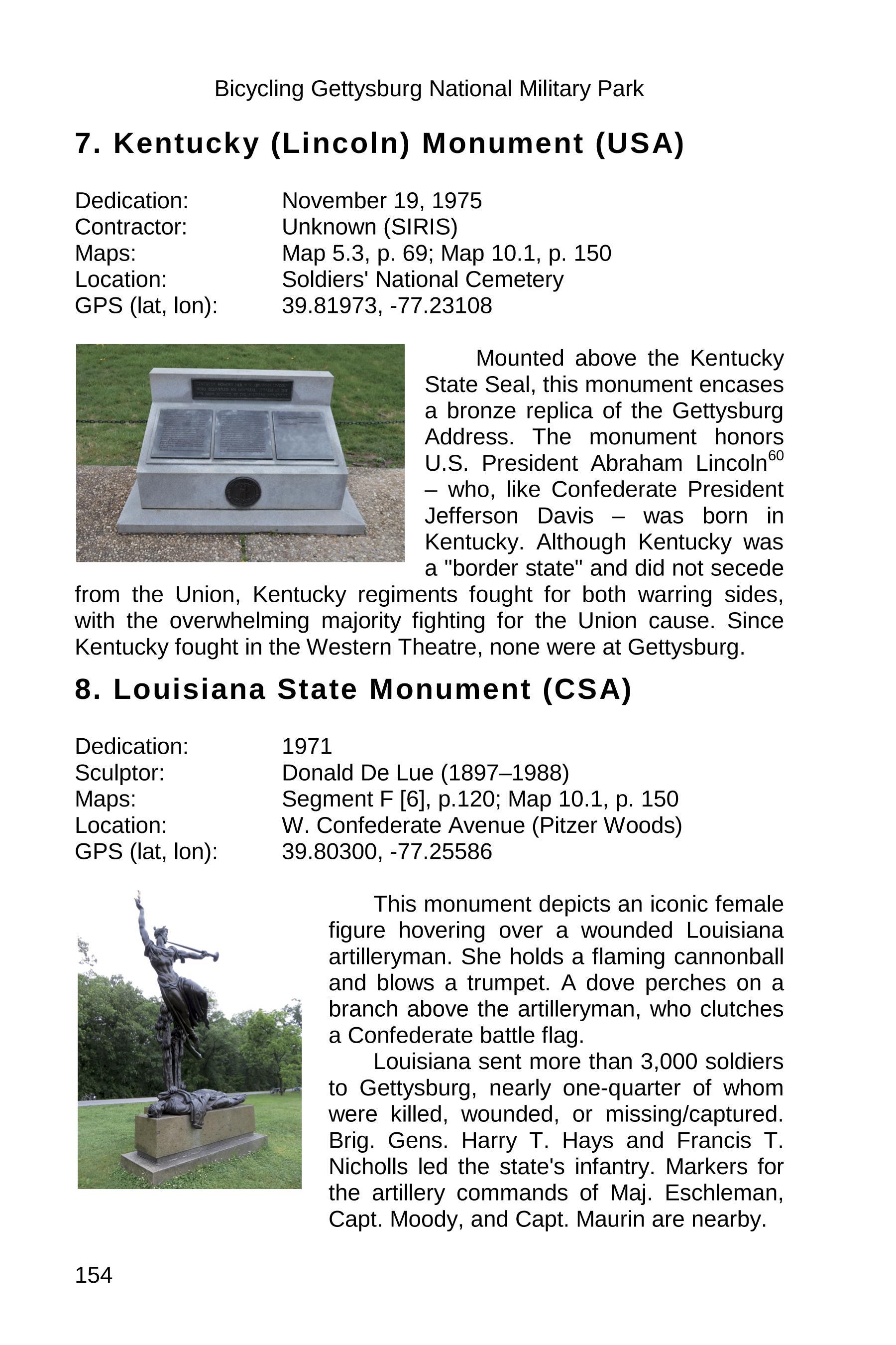 gettysburg state monuments sample 154
