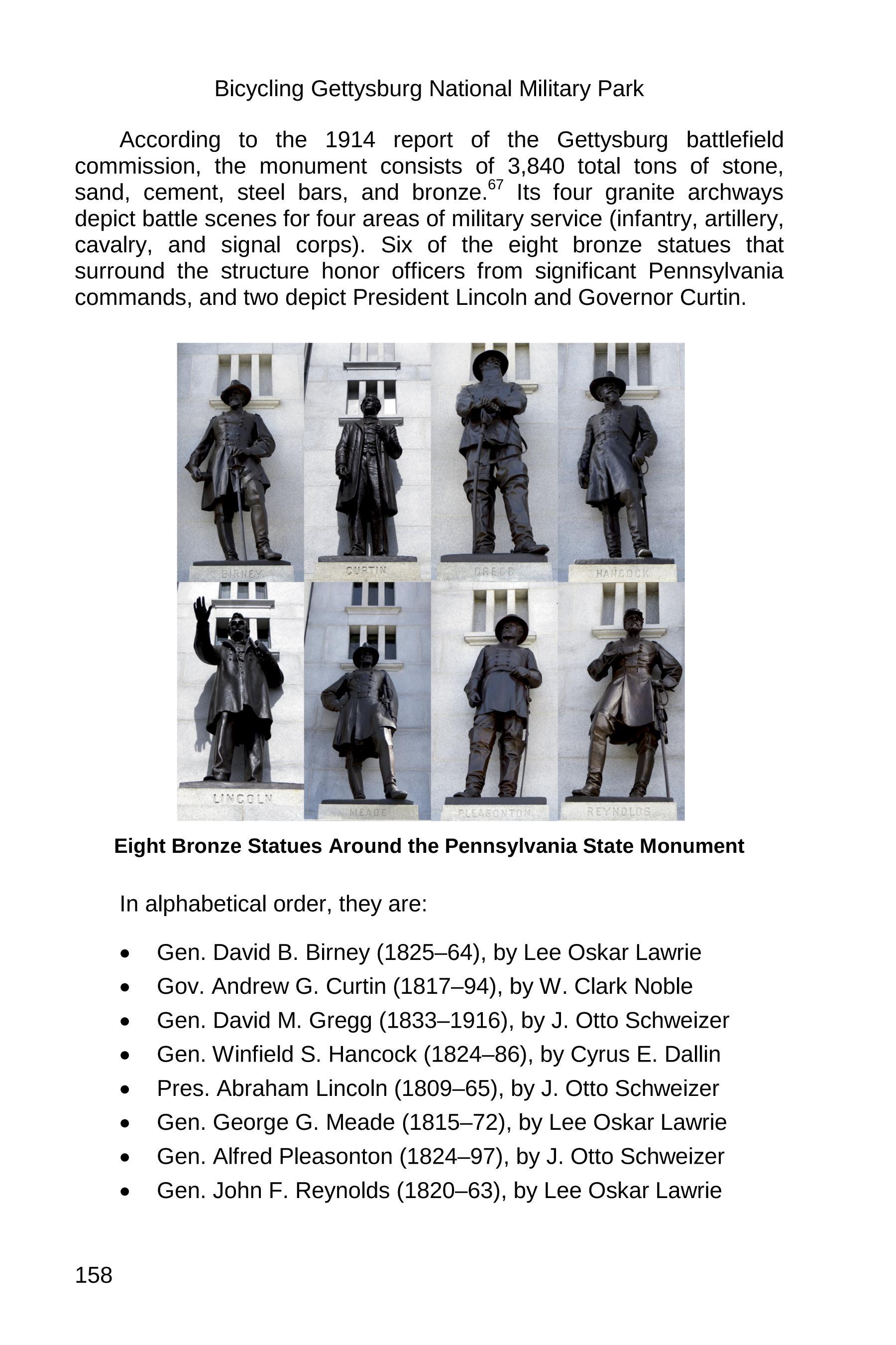 gettysburg state monuments sample 158