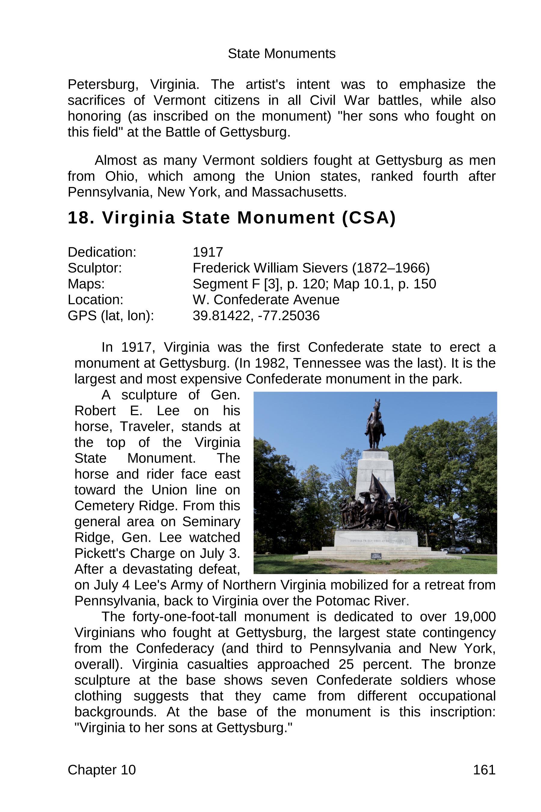 gettysburg state monuments sample 161
