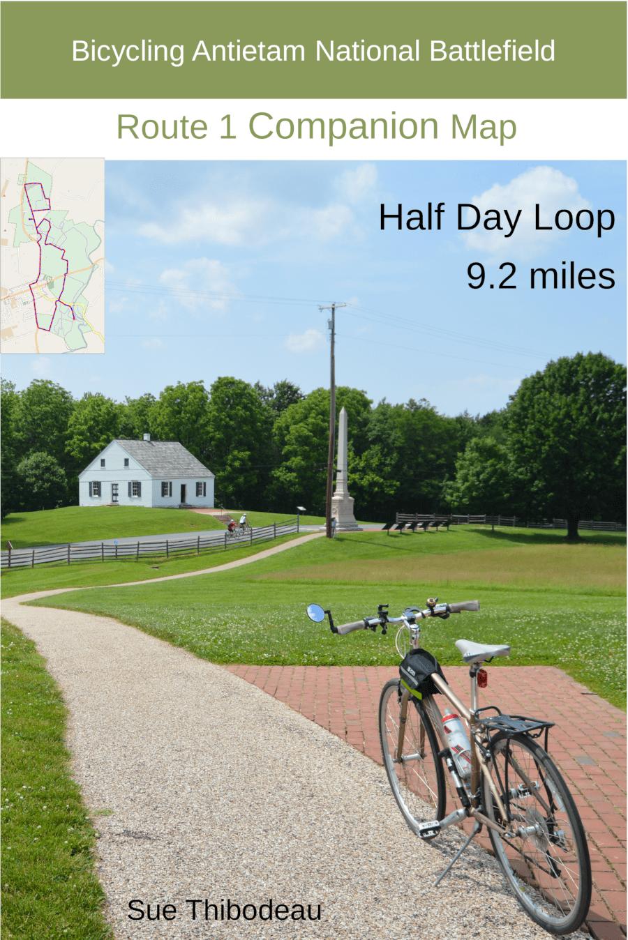 Bicycling Antietam National Battlefield Digital Map