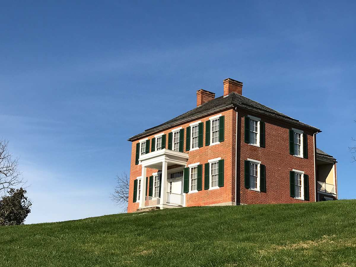 The Pry House, Gen. McClellan's headquarters