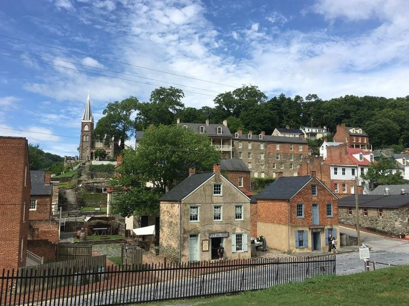 downtown harpers ferry 1