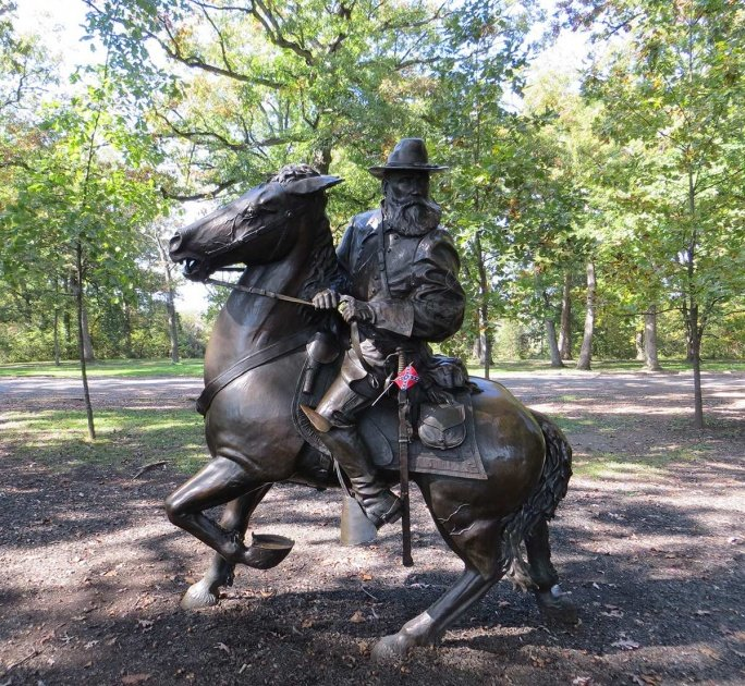James Longstreet Equestrian Monument