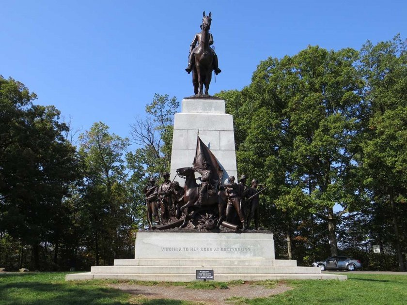 Virginia State Monument on Seminary Ridge
