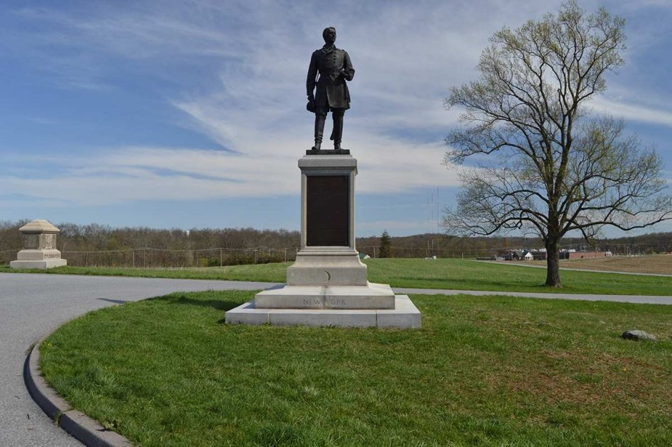 Francis C. Channing Monument in Barlow's Knoll