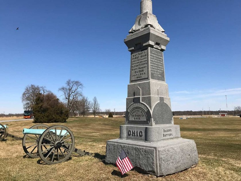 1st Ohio Light Artillery Monument