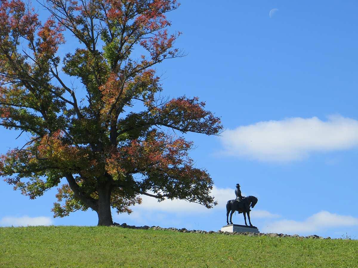 biking battlefields like gettysburg