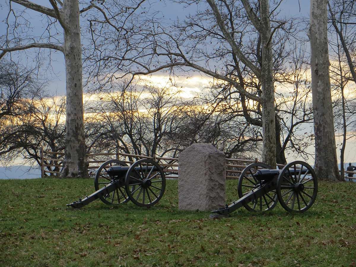 Gettysburg landscape photos
