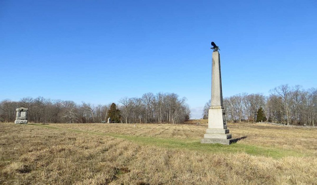 27th Connecticut Monument in the Wheatfield