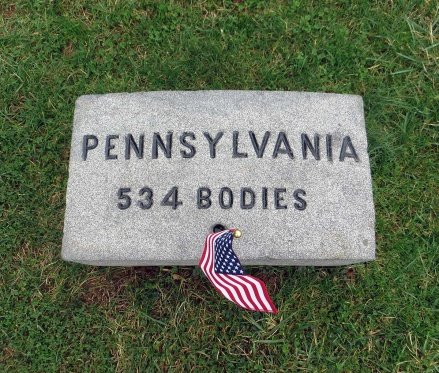 Soldiers National Cemetery Gravestone