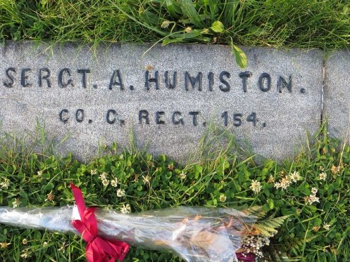 Grave of Sgt. Amos Humiston