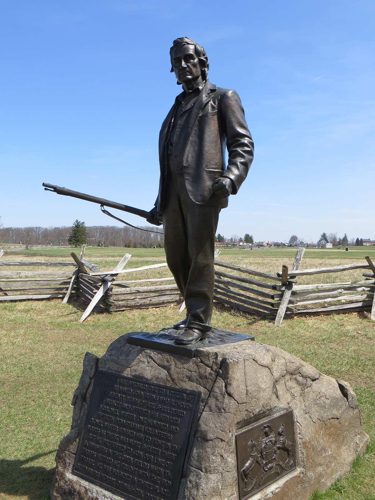 John L. Burns Monument