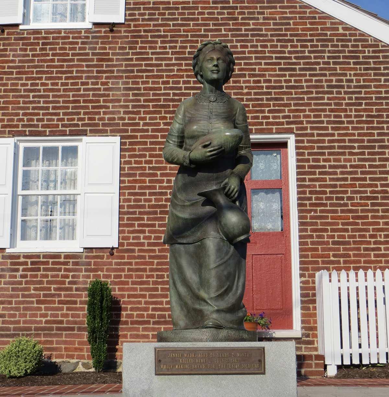 """Jennie"" Wade Statue"