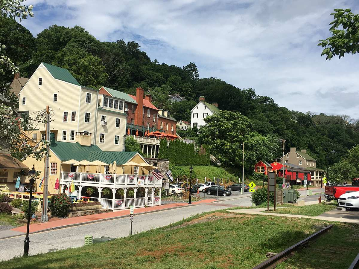 downtown harpers ferry 2